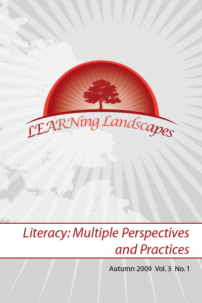 Vol 3 No 1 (2009): Literacy: Multiple Perspectives and Practices