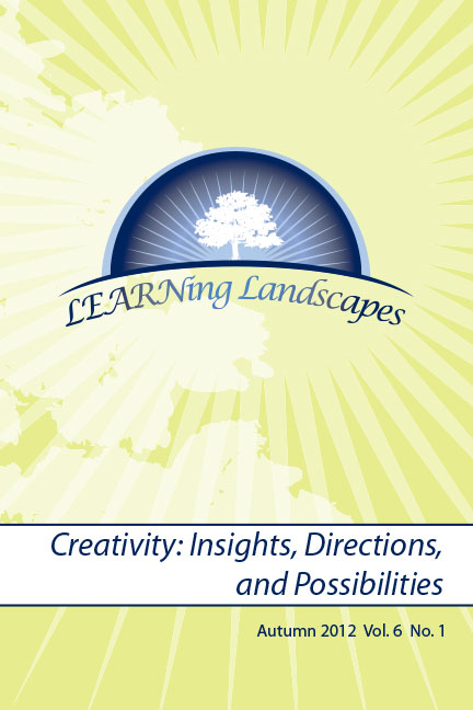 Vol 6 No 1 (2012): Creativity: Insights, Directions and Possibilities
