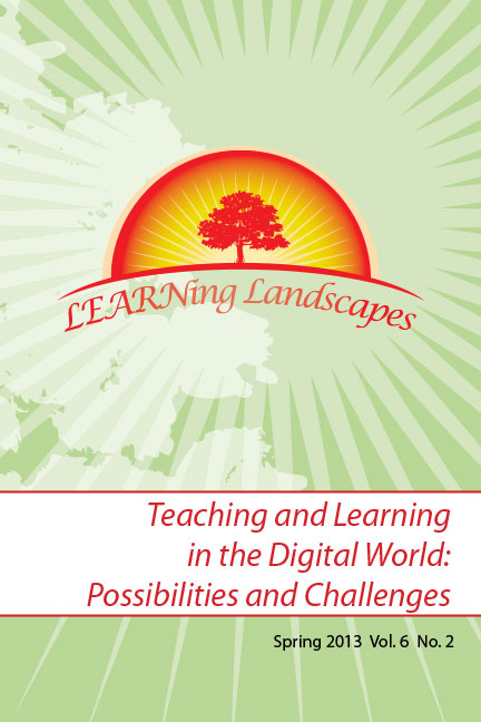 Vol 6 No 2 (2013): Teaching and Learning in the Digital World: Possibilities and Challenges
