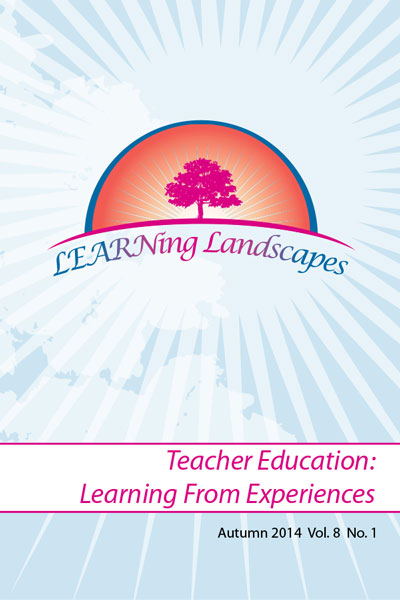 Settings Vol 8 No 1 (2014): Teacher Education: Learning From Experiences