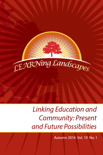 Cover Art: Linking Education and Community