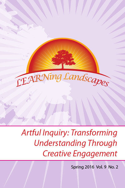 Vol 9 No 2 (2016): Artful Inquiry: Transforming Understanding Through Creative Engagement