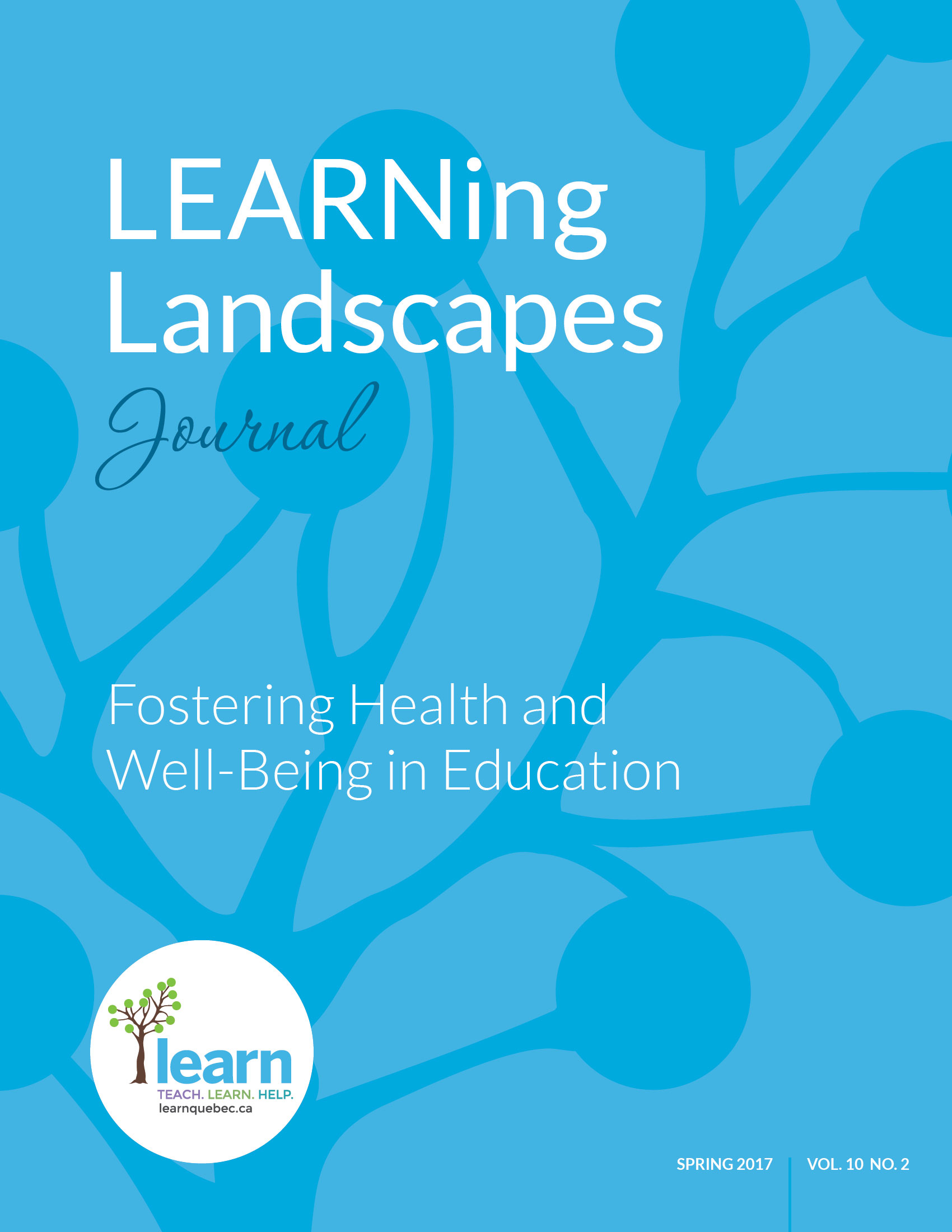 Vol 10 No 2 (2017): Fostering Health and Well-Being in Education